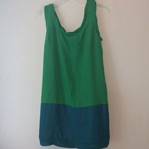 Thakoon for Target colorblock dress midi sz L